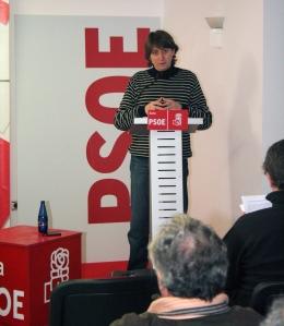 Carlos Martínez en un momento de su intervención.