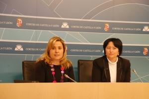 Esther Pérez y Ángela Marqués