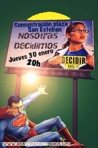 Contra reforma de la Ley de Salud sexual y reproductiva y de la interrupción voluntaria del embarazo