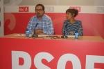 Rueda de prensa ofrecida esta mañana por Ángel Hernández e Inés Andrés